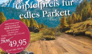 Haro Parkett Eiche Watzmann Aktion Top Deal Uelzen Vinylplanken